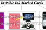 marked poker cards with invisible ink
